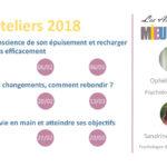 2018 : Les Ateliers du Mieux-Être