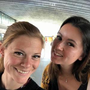 Sarah Crochelet et Gaëlle Gillot